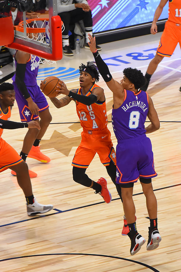 2020 NBA All-Star - Rising Stars Game Photograph by Bill Baptist