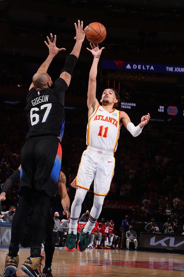 2021 NBA Playoffs - Atlanta Hawks v New York Knicks Photograph by Nathaniel S. Butler