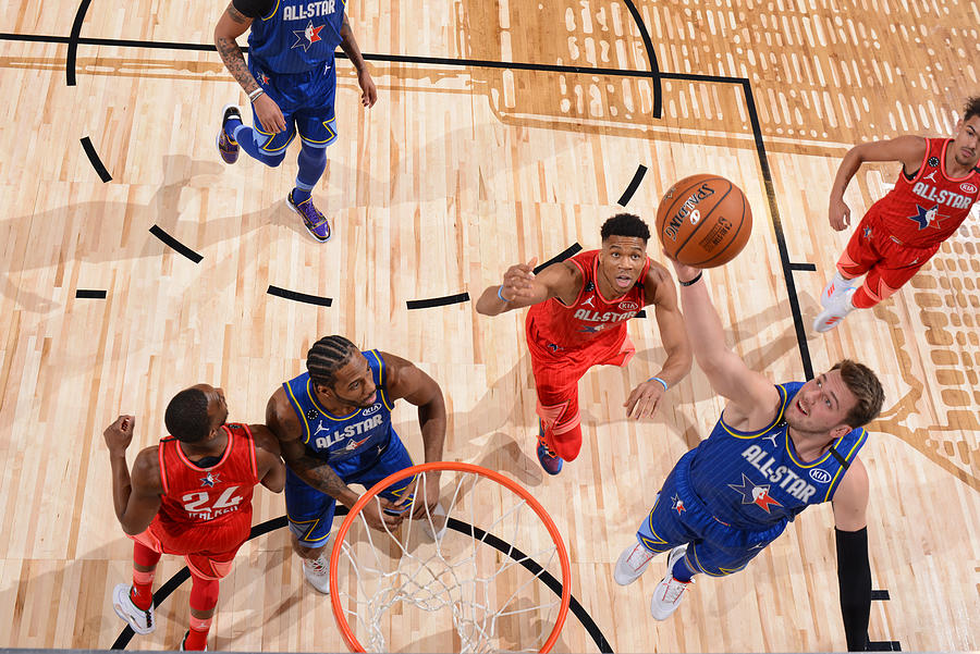 69th NBA All-Star Game Photograph by Jesse D. Garrabrant