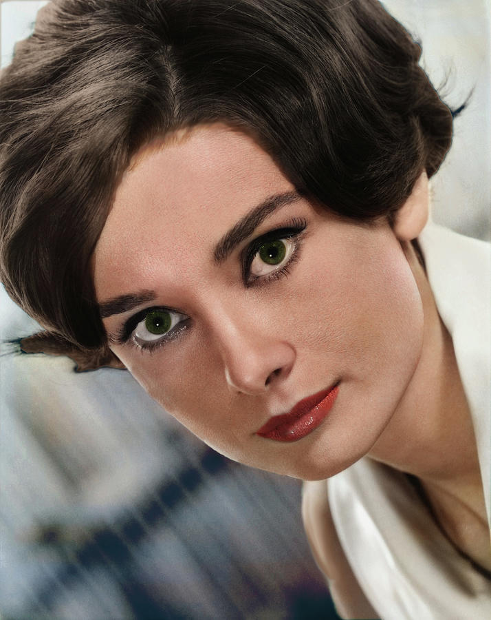 Audrey Hepburn Digital Art