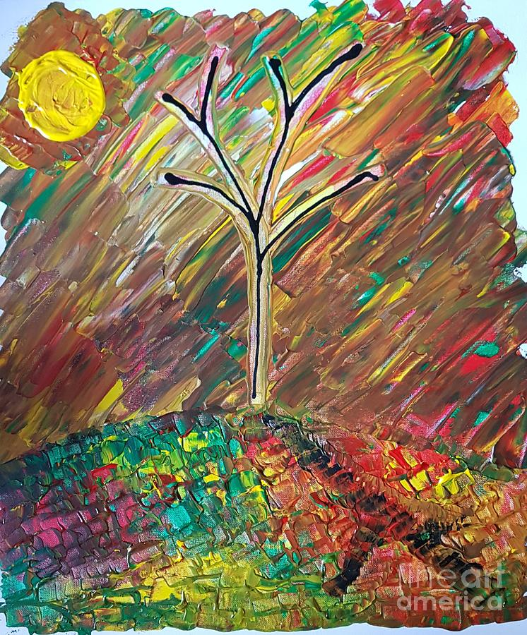 Autumn  Painting by Andy Thompson