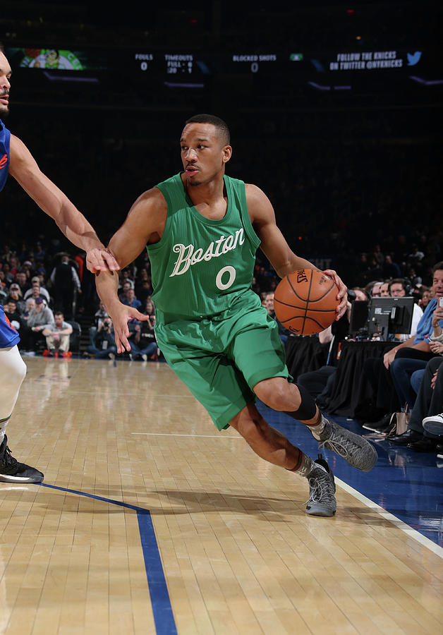 Avery Bradley Photograph by Nathaniel S. Butler