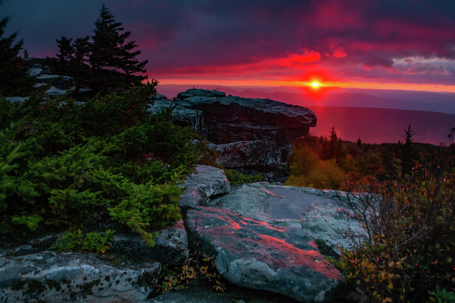 Bear Rocks Sunrise Photograph