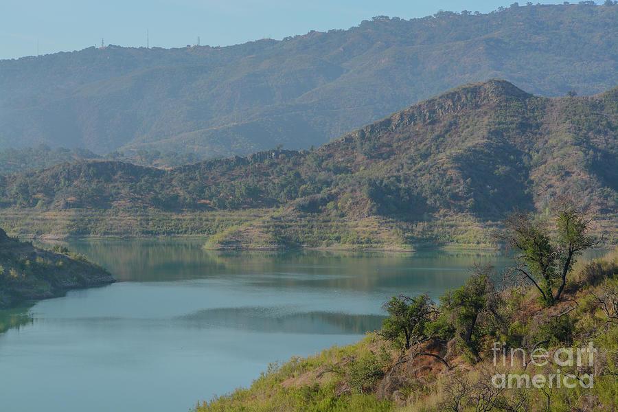 Beautiful Lake Casitas In The Rugged Mountains Of Ventura, Ventura County, California Photograph