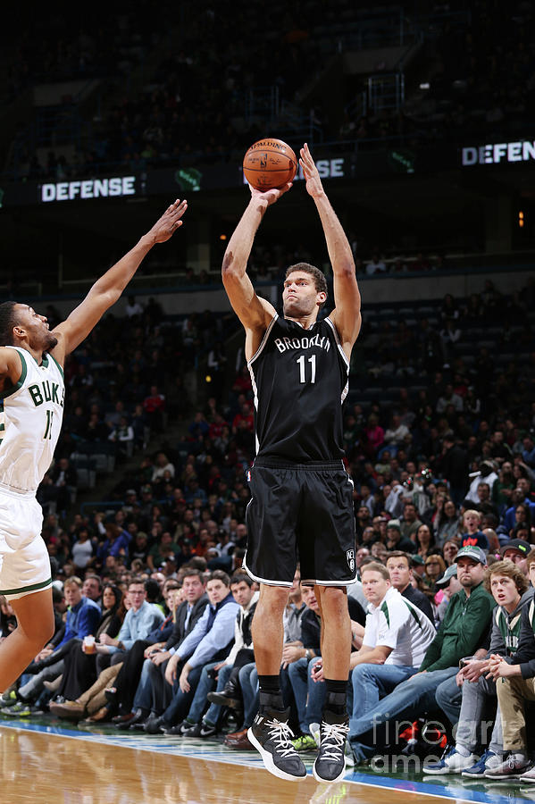 Brook Lopez Photograph by Gary Dineen