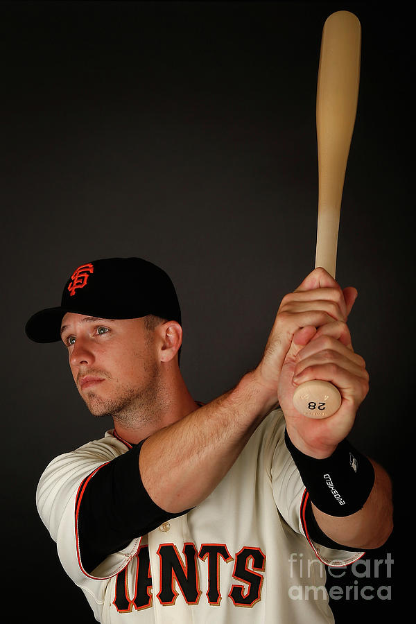 Buster Posey Photograph by Christian Petersen