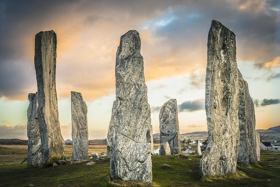 Callanish Standing Stones, Isle of Lewis Photograph by Theasis