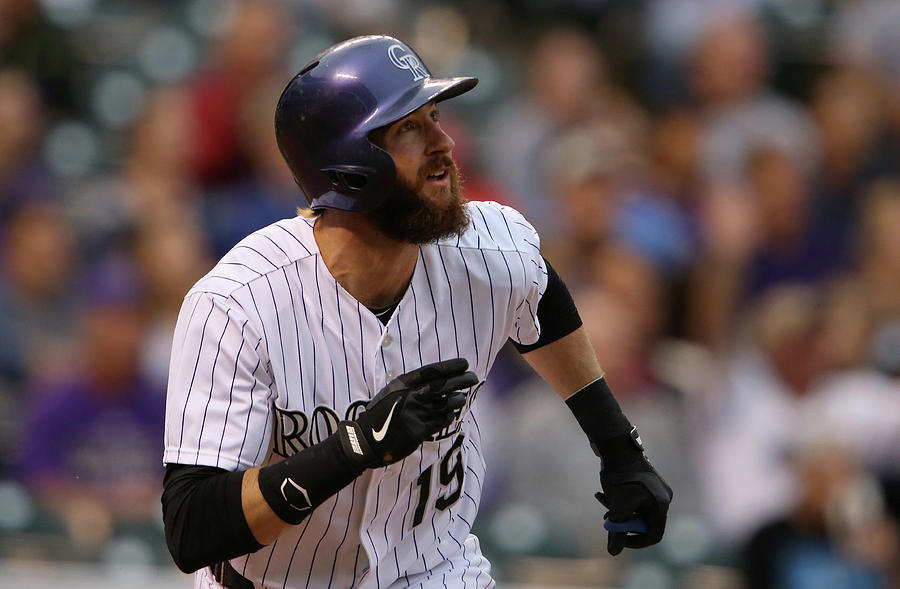 Charlie Blackmon Photograph by Doug Pensinger