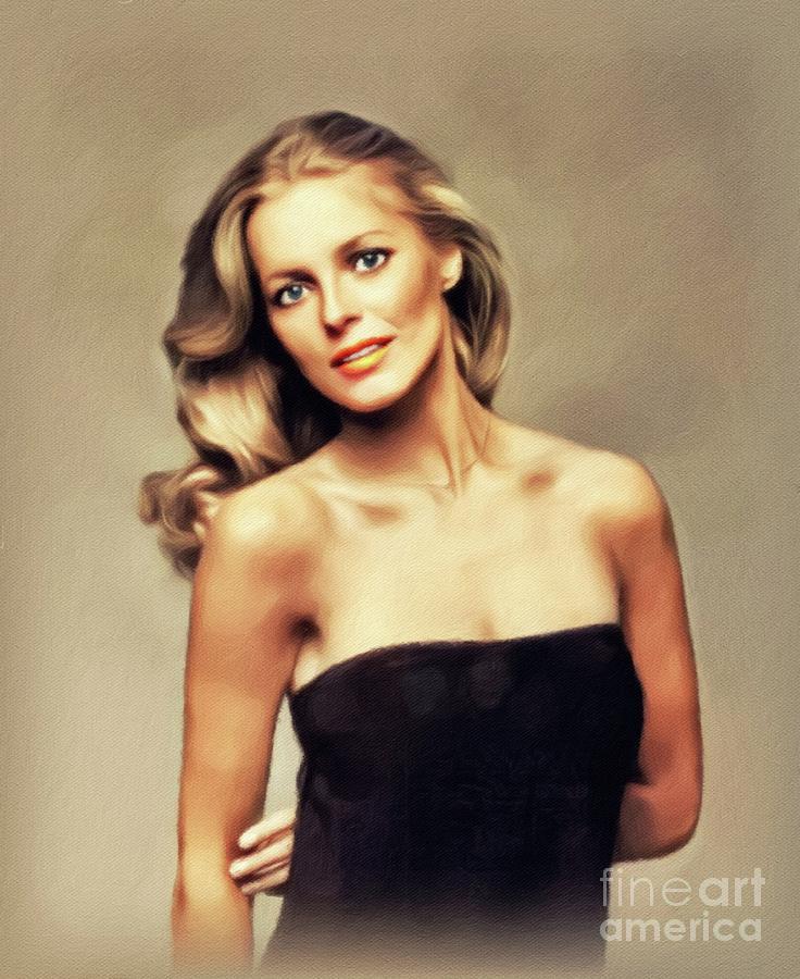Cheryl Ladd, Actress Painting