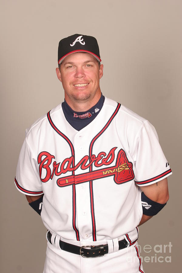 Chipper Jones Photograph by Tony Firriolo