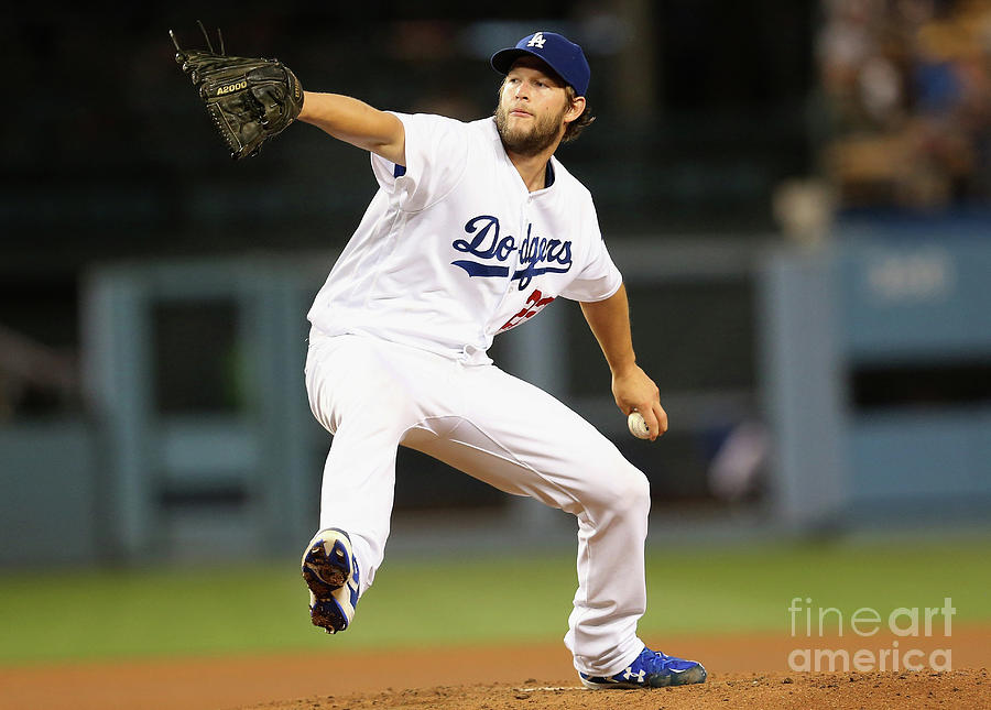 Clayton Kershaw Photograph by Stephen Dunn