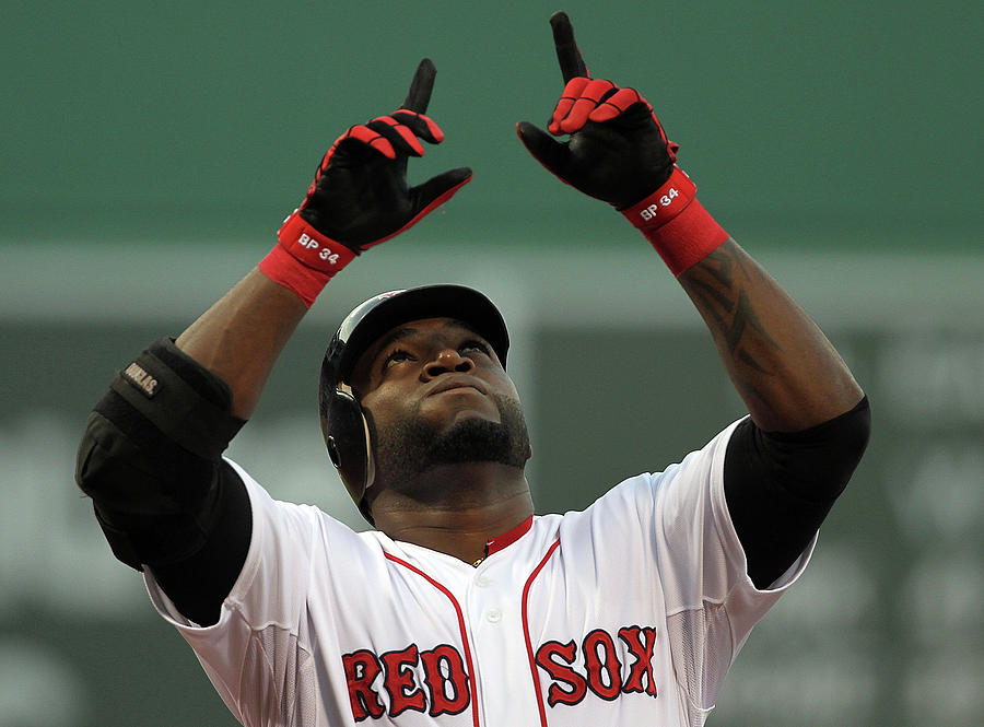 David Ortiz Photograph by Jim Rogash