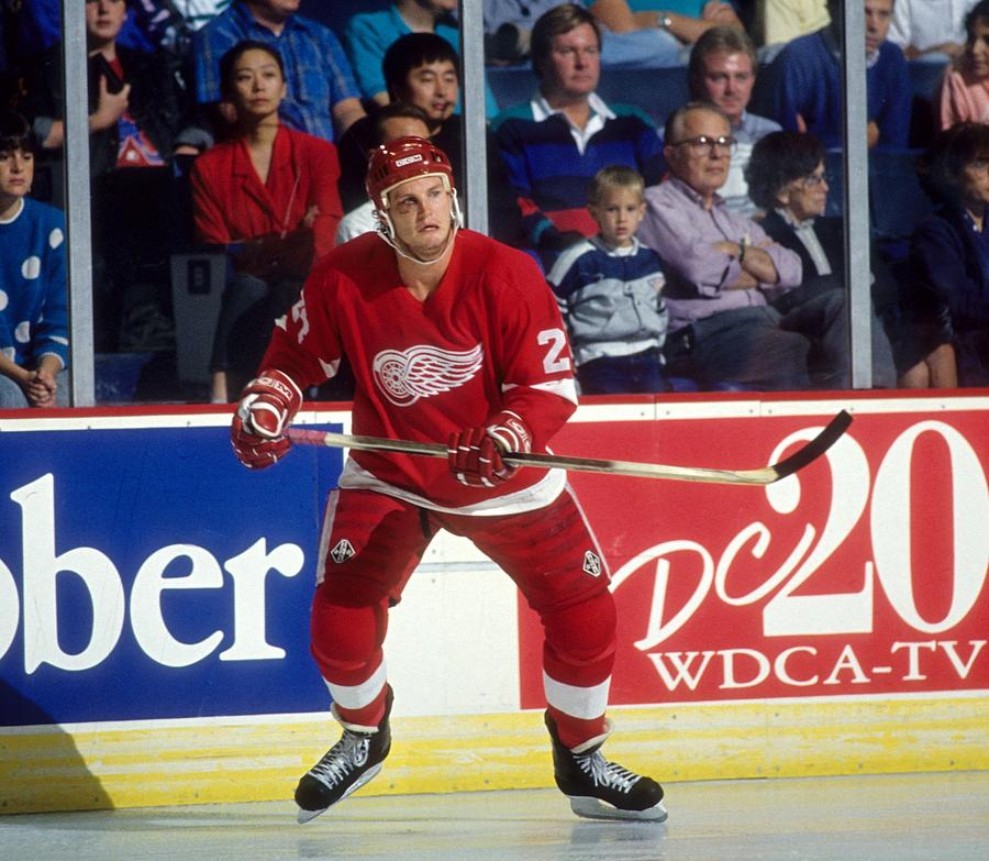 Detroit Red Wings Photograph by B Bennett