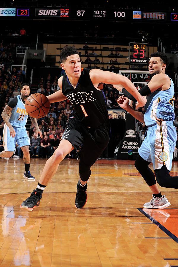 Devin Booker Photograph by Michael Gonzales