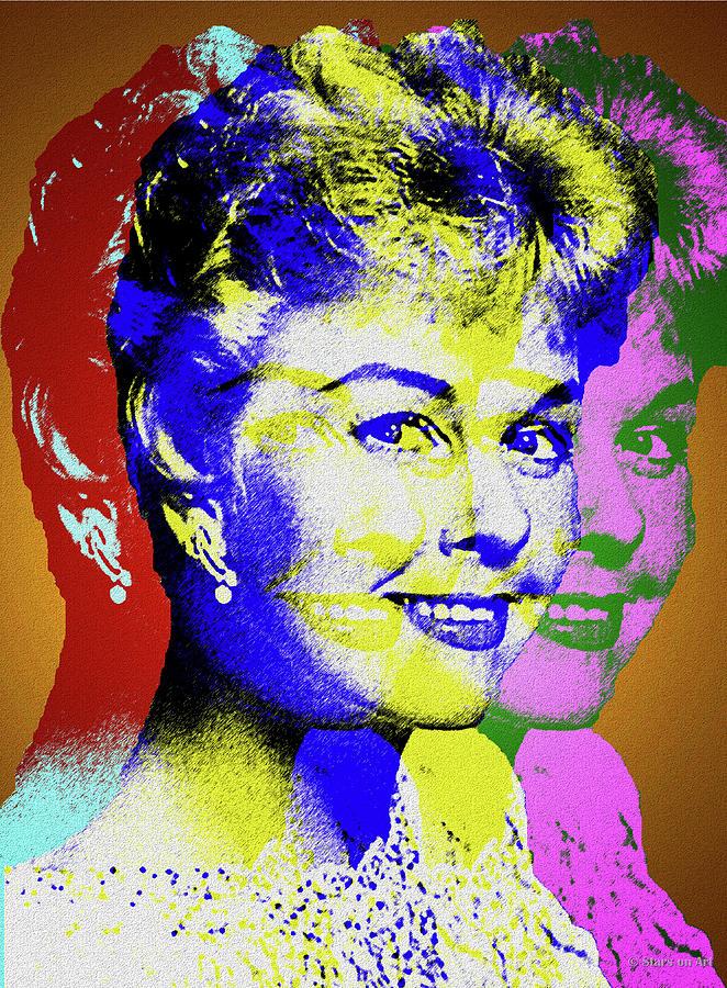 Doris Day Digital Art