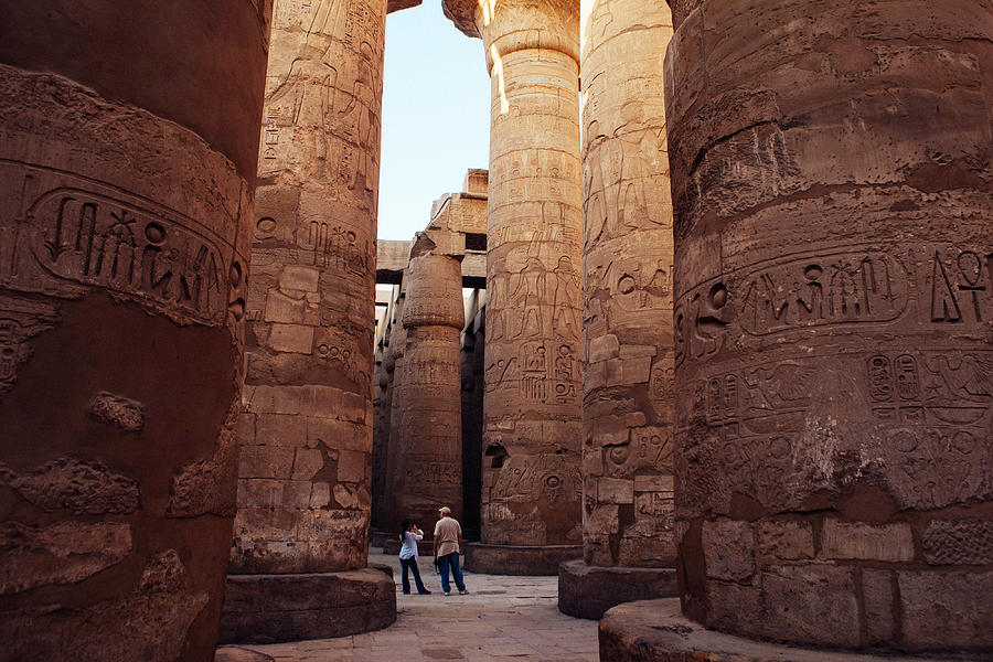 Egyptian Tourist Destinations Struggle After Months Of Civil Unrest Photograph by Ed Giles