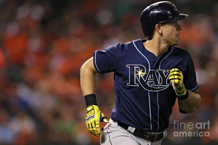 Evan Longoria Photograph by Patrick Smith