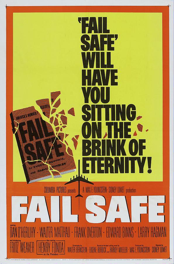 fail Safe, With Henry Fonda, 1964 Mixed Media
