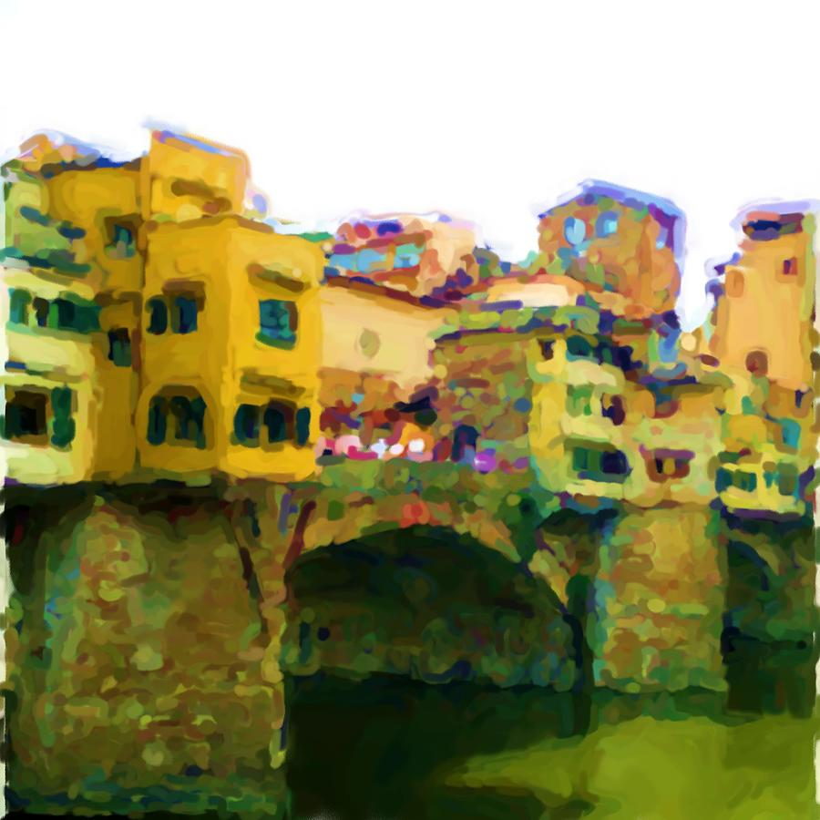 Florence Mixed Media - Florence by Asbjorn Lonvig