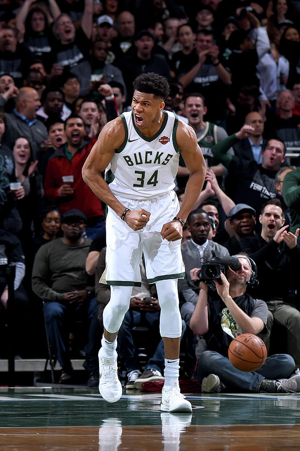 Giannis Antetokounmpo Photograph by Brian Babineau