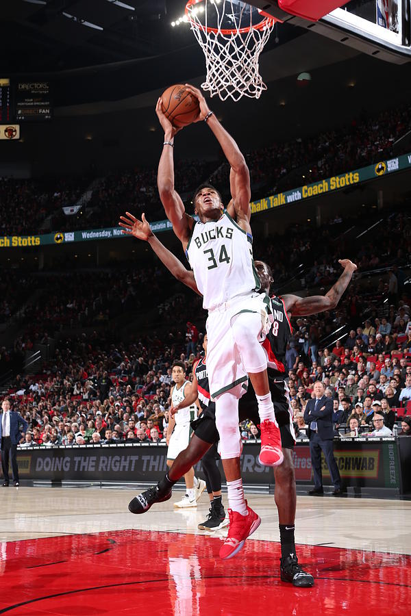 Giannis Antetokounmpo Photograph by Sam Forencich