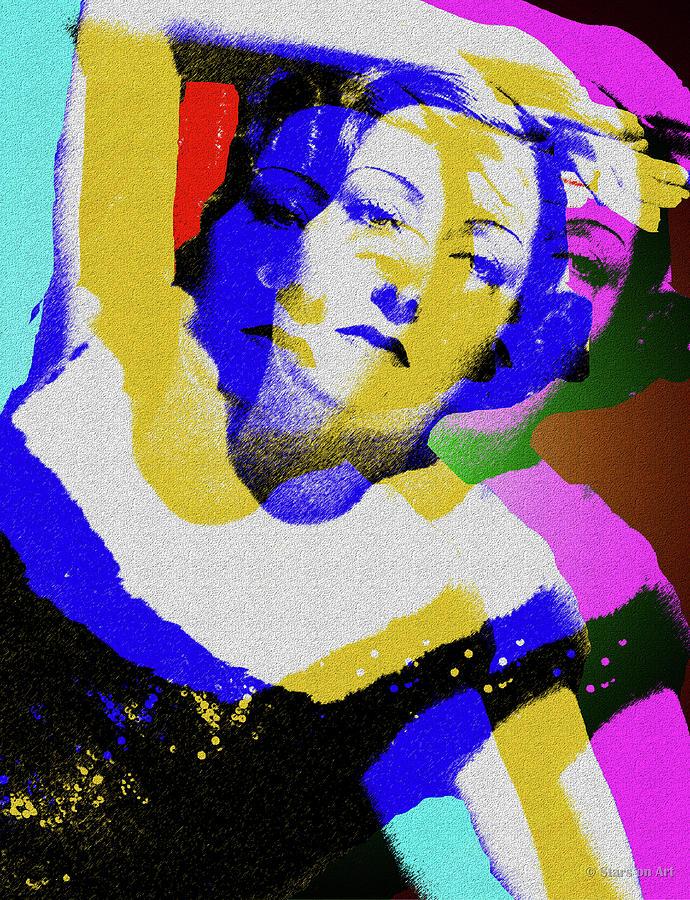 Gloria Swanson Digital Art