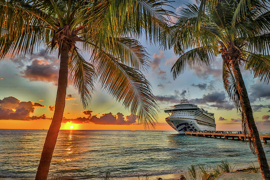 Grand Turk Turks and Caicos by Paul James Bannerman