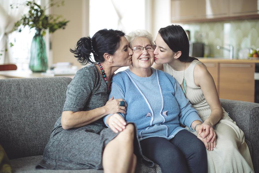 Happy family Photograph by Eva-Katalin