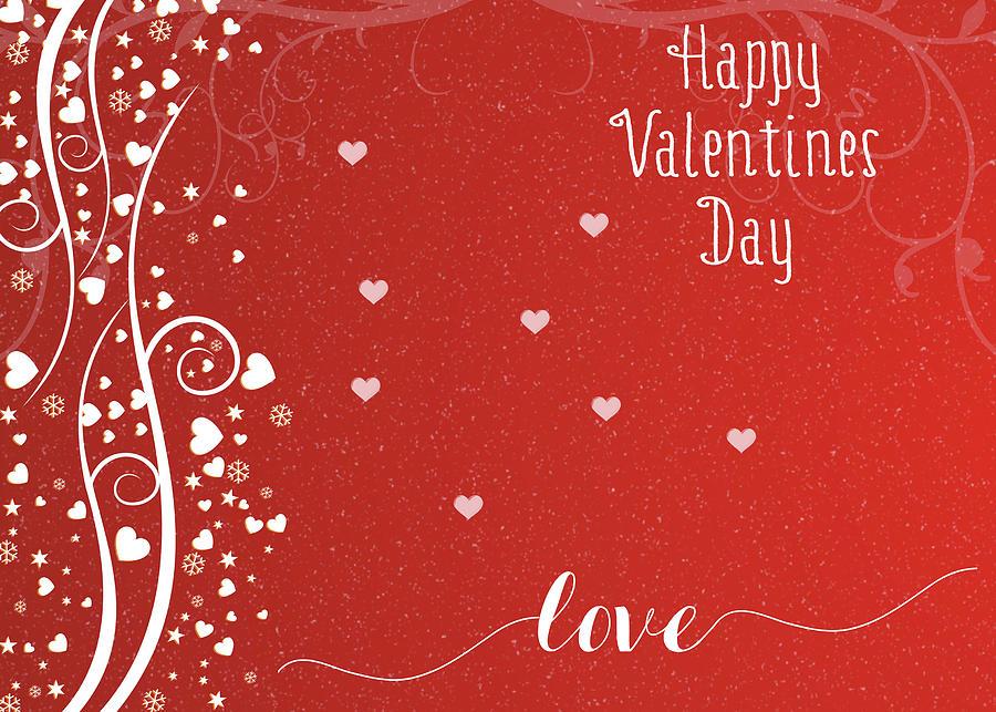 Happy Valentines Day Photograph