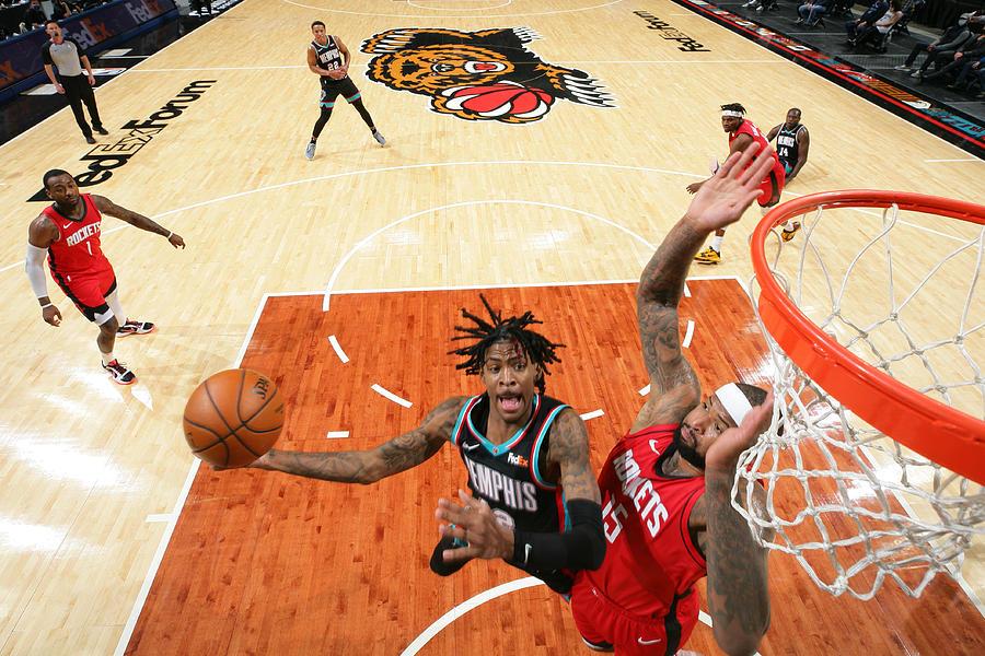 Houston Rockets v Memphis Grizzlies Photograph by Joe Murphy