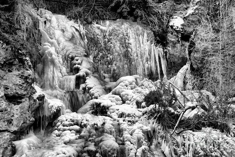 Icy Falls Photograph