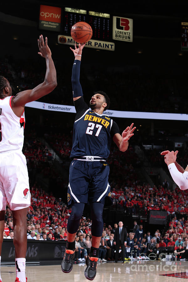 Jamal Murray Photograph by Sam Forencich