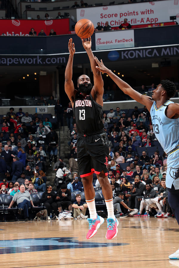 James Harden Photograph by Joe Murphy