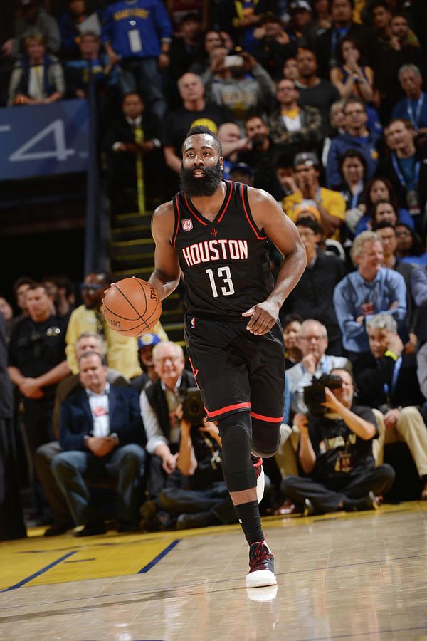 James Harden Photograph by Noah Graham