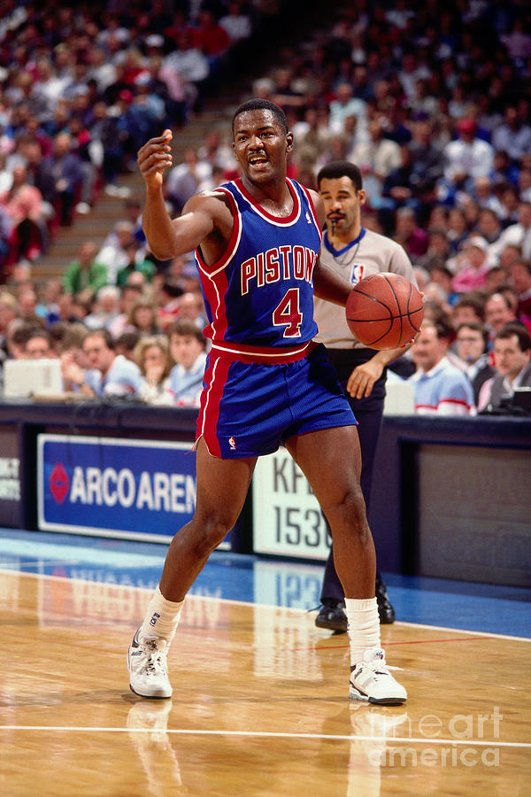 Joe Dumars Photograph by Rocky Widner