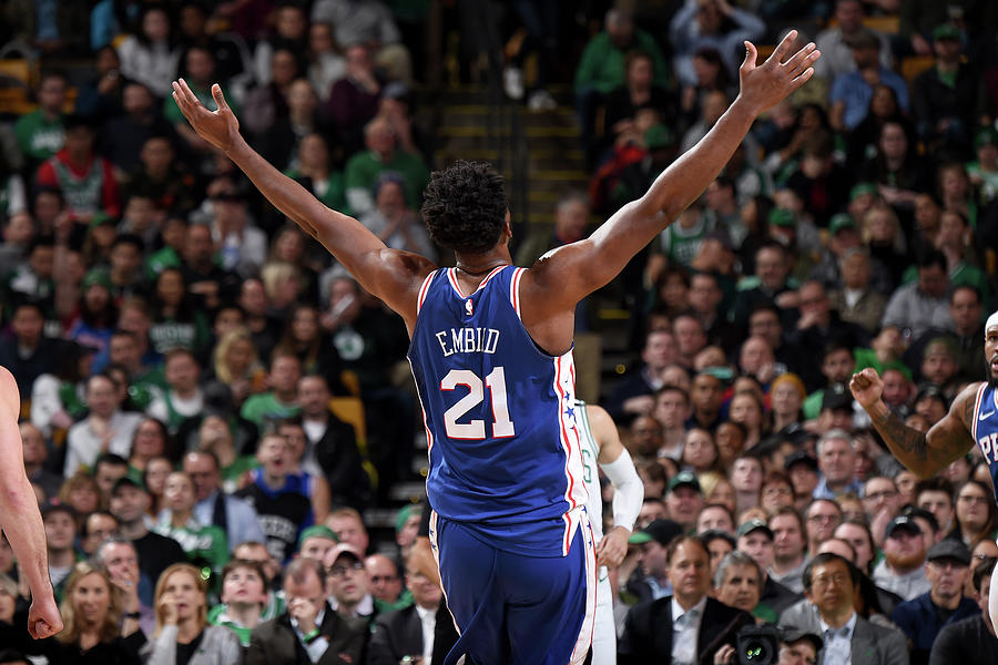 Joel Embiid Photograph by Brian Babineau