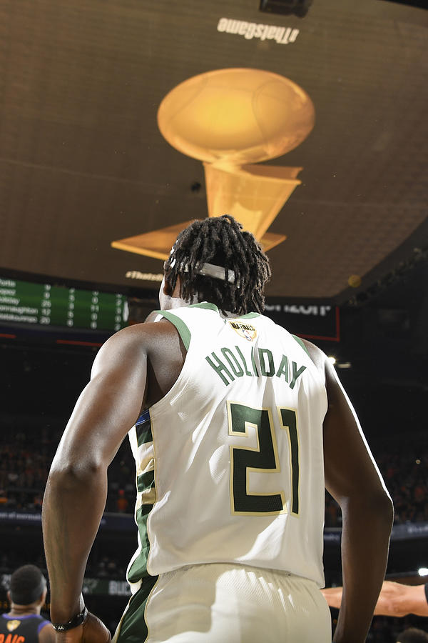 Jrue Holiday Photograph by Andrew D. Bernstein