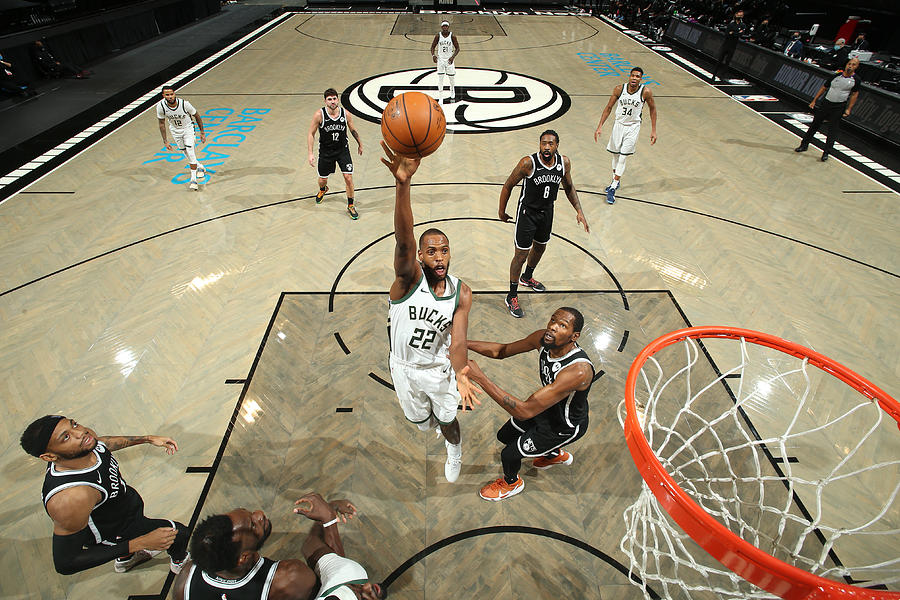 Khris Middleton Photograph by Nathaniel S. Butler