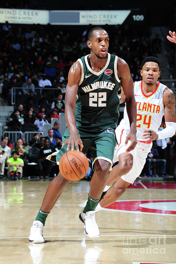 Khris Middleton Photograph by Scott Cunningham