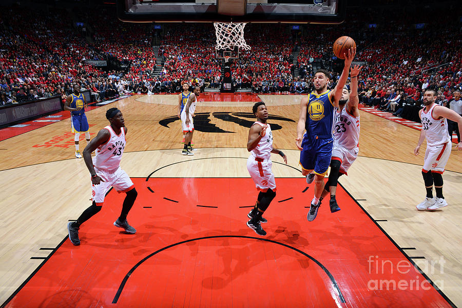 Klay Thompson Photograph by Jesse D. Garrabrant