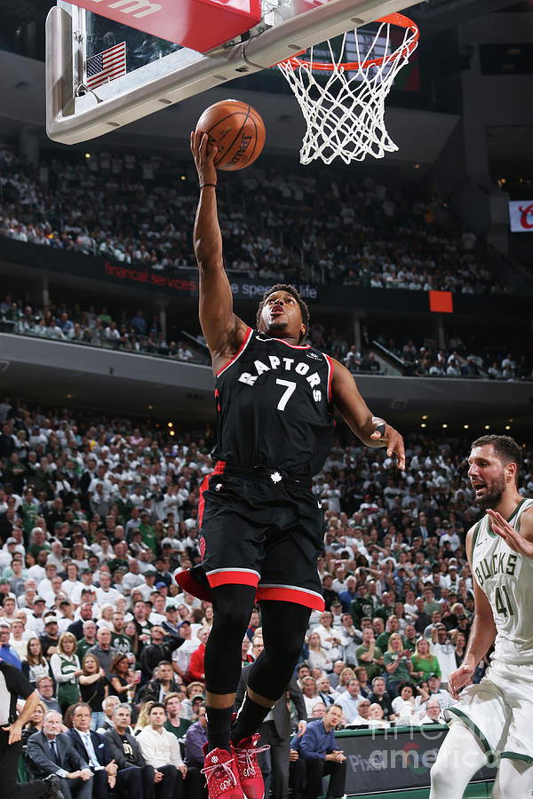 Kyle Lowry Photograph by Gary Dineen