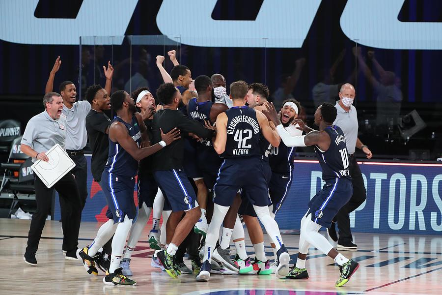 LA Clippers v Dallas Mavericks - Game Four Photograph by Joe Murphy