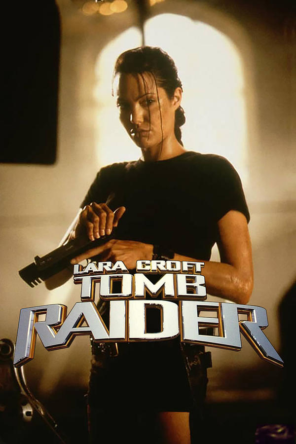 Lara Croft Tomb Raider 2001 Digital Art By Geek N Rock