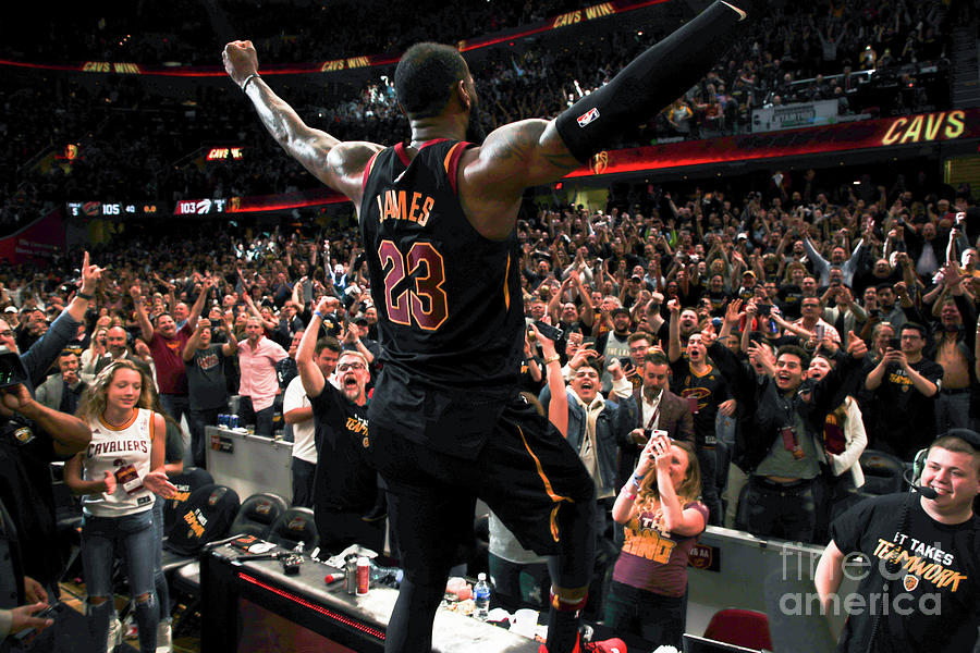Lebron James Photograph by Jeff Haynes