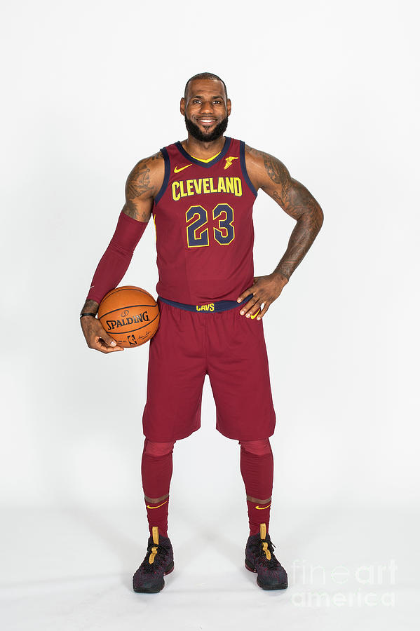 Lebron James Photograph by Michael J. Lebrecht Ii