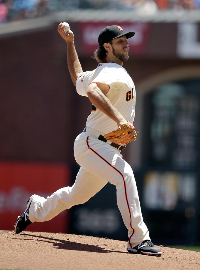 Madison Bumgarner Photograph by Ezra Shaw