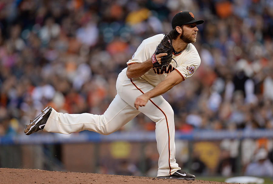 Madison Bumgarner Photograph by Thearon W. Henderson