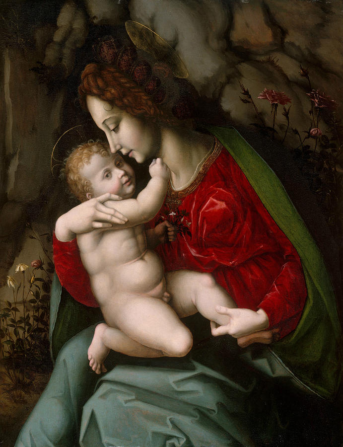 Madonna and Child by Bachiacca
