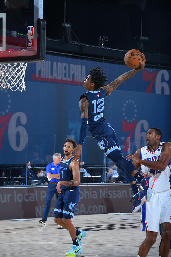 Memphis Grizzlies v Philadelphia 76ers Photograph by Bill Baptist