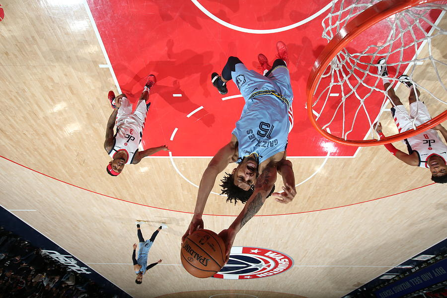 Memphis Grizzlies v Washington Wizards Photograph by Stephen Gosling